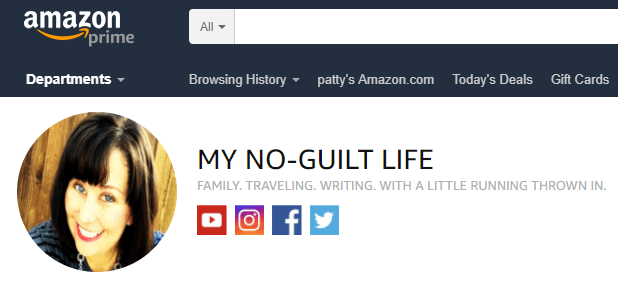 (affiliate) Shop Amazon with My No-Guilt Life