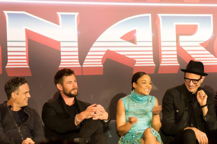 Los Angeles Thor: Ragnarok Press Conference recap and experience.
