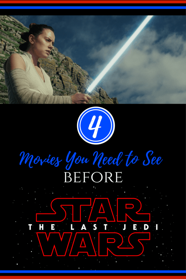 Movies to Watch Before Star Wars: The Last Jedi. You want to see these before you go to the theaters on December 15! New trailer released!