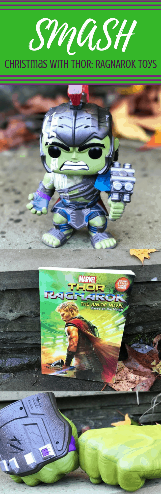 THOR: RAGNAROK toys for Christmas for the Marvel fan on your list! HULK | THOR | HELA | LOKI