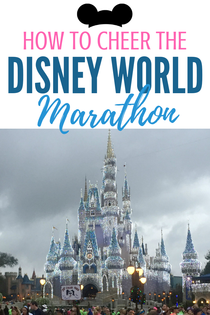 How to Cheer the Disney World Marathon