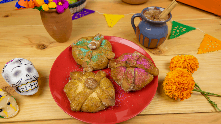 Disney Pixar's COCO Family Activity Sheets free printables! recipe for pan de muerto and hot chocolate