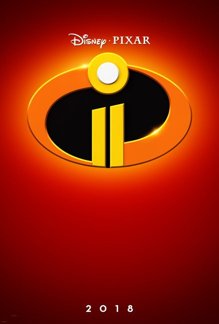Disney Pixar's INCREDIBLES 2 movie Official Teaser Trailer and Poster