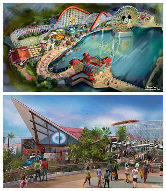 One thing you can count on with Disneyland are changes. Pixar Pier adds Incredicoaster to Disney California Adventure this summer!?