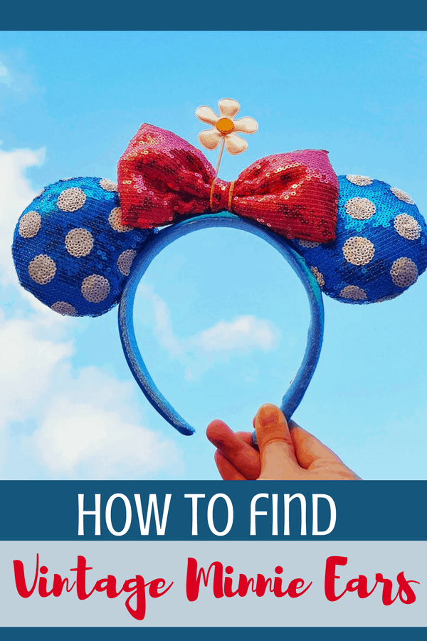 We all love those rose gold ears but there's a new set of ears on the horizon.?Vintage Minnie ears are here and we are LIVING FOR THEM.?Here's how you can find vintage Minnie ears at Disney.