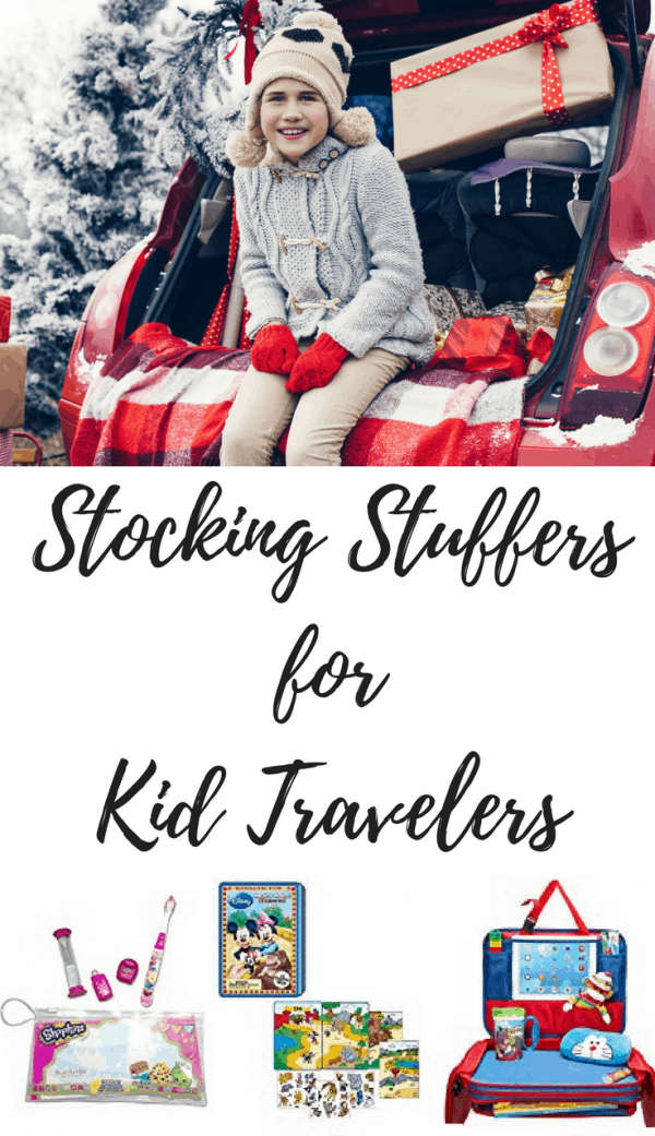 May I present 15 Stocking Stuffers for kid travelers! That's right; this time I'm focusing on those little travelers we occasionally like to bring with us on trips.