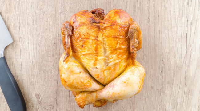 cook a whole chicken for frugal living