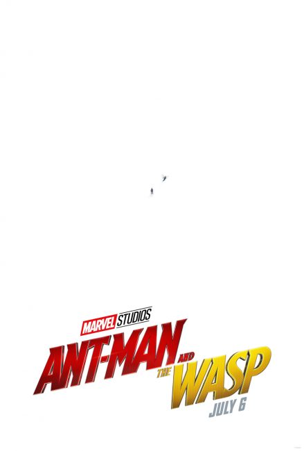 Ant-Man and the Wasp poster: tiny