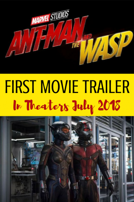 FIRST MOVIE TRAILER For AntMan and the Wasp Marvel Movie #AntManAndTheWasp #AntManMovie #AntMan #Marvel #MCU