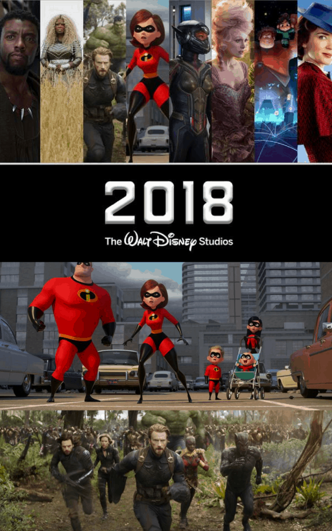 2018 Walt Disney Studios Motion Pictures Slate is going to be full of family friendly, amazing movies you don't want to miss! Let's see what Pixar, Disney Studios, Marvel and Lucas have to offer in 2018. #DisneyMovies #Marvel #Pixar #StarWars #Disney #movies