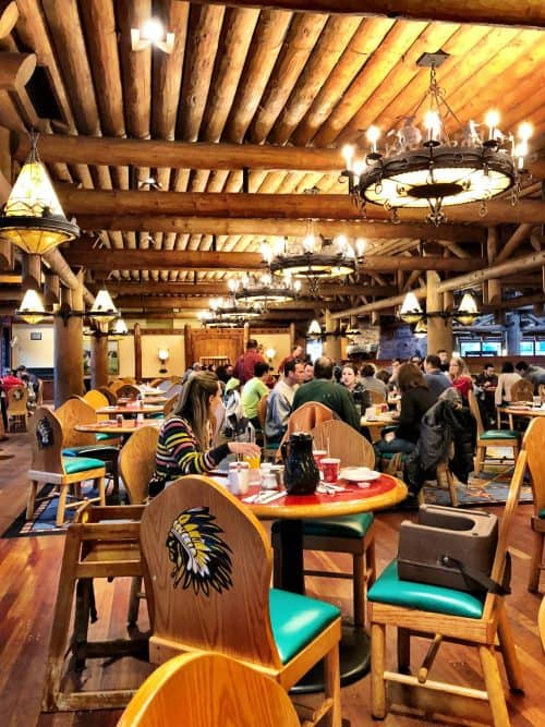 Whispering Canyon Cafe is on the Disney Dining Plan