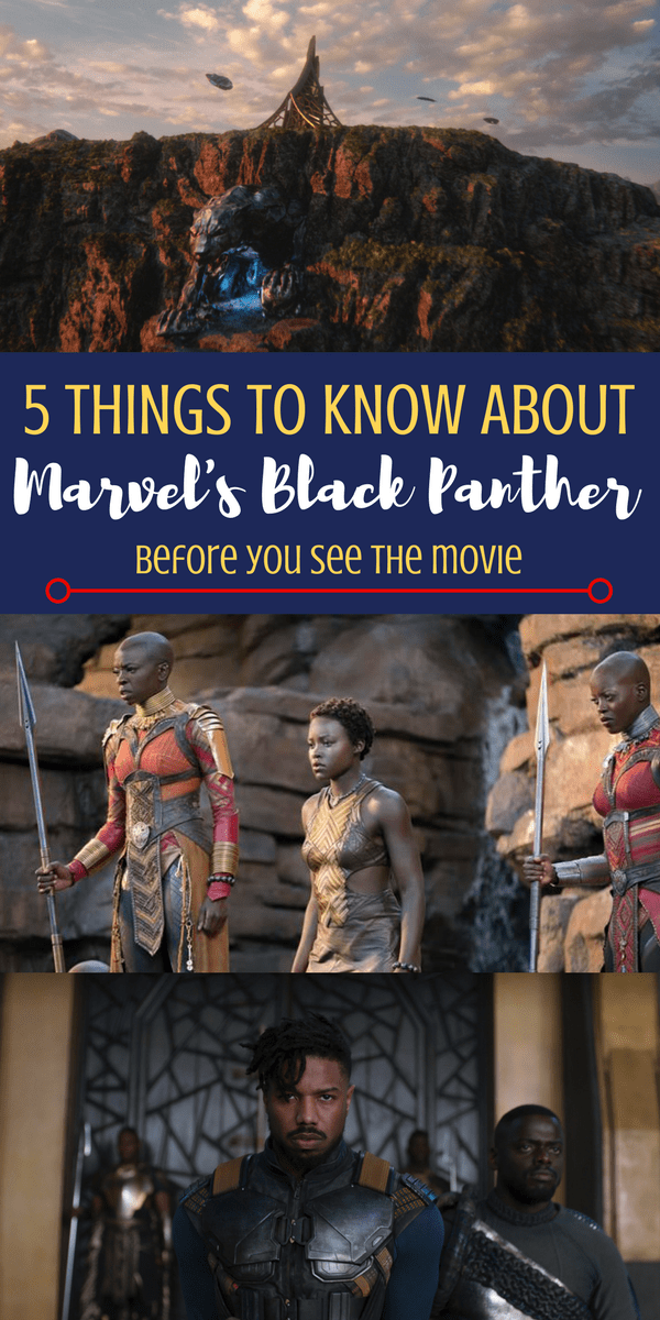 Who is the Black Panther and what you need to know about the first black super hero before February 16! 5 things you need to know about the Black Panther Marvel Movie