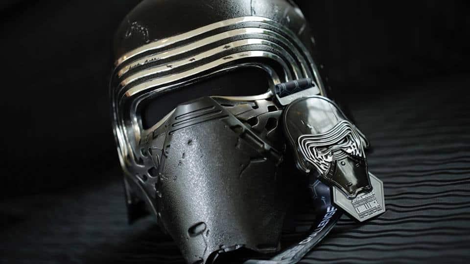 2018 runDisney Star Wars Medals Dark Side Half Marathon