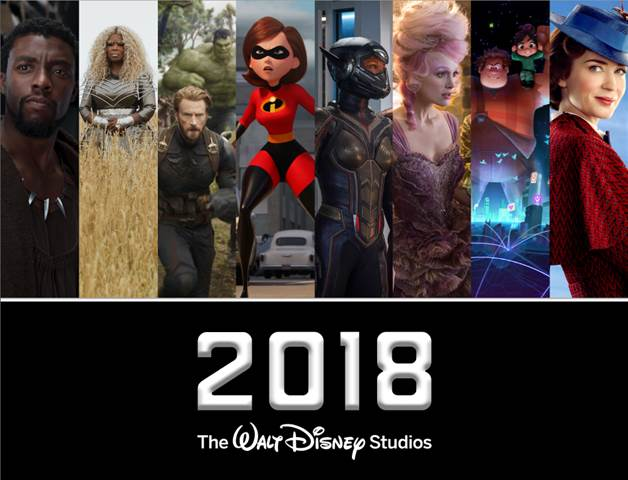 2018 Walt Disney Studios Motion Pictures Slate is going to be full of family friendly, amazing movies you don't want to miss! Let's see what Pixar, Disney Studios, Marvel and Lucas have to offer in 2018.