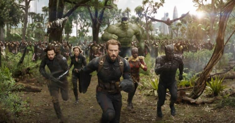 Infinity War heroes running Marvel Movies to Watch In Order Before Avengers Infinity War Plus avengers movies in order