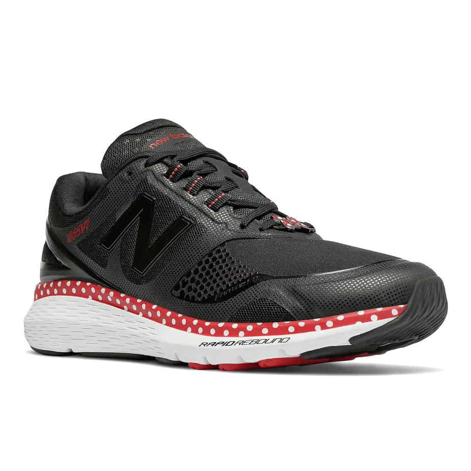 New Balance Minnie Mouse running shoe collection on the Shop Disney Parks app!