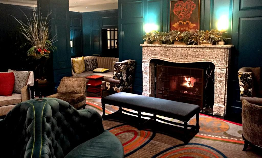 Experiencing a hotel rebrand overnight: from a Kimpton to a Marriot.
