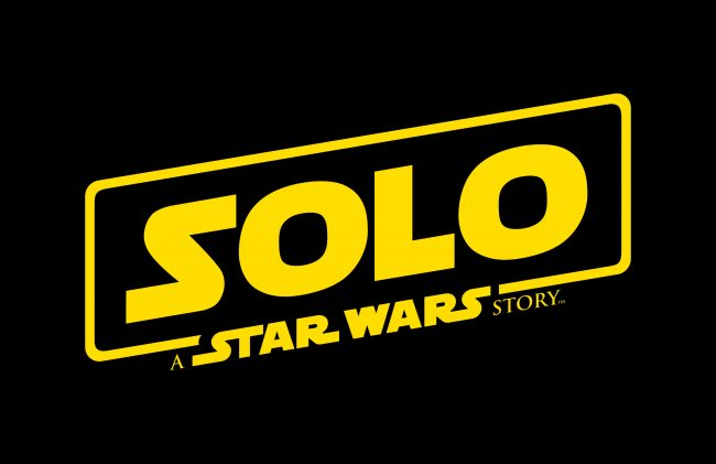 Solo a Star Wars story logo first Solo movie trailer