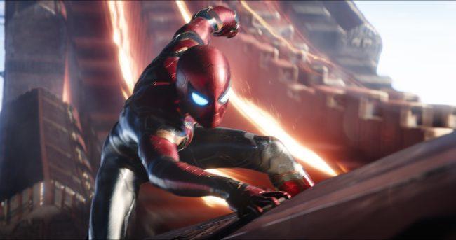 Infinity War Spider Man