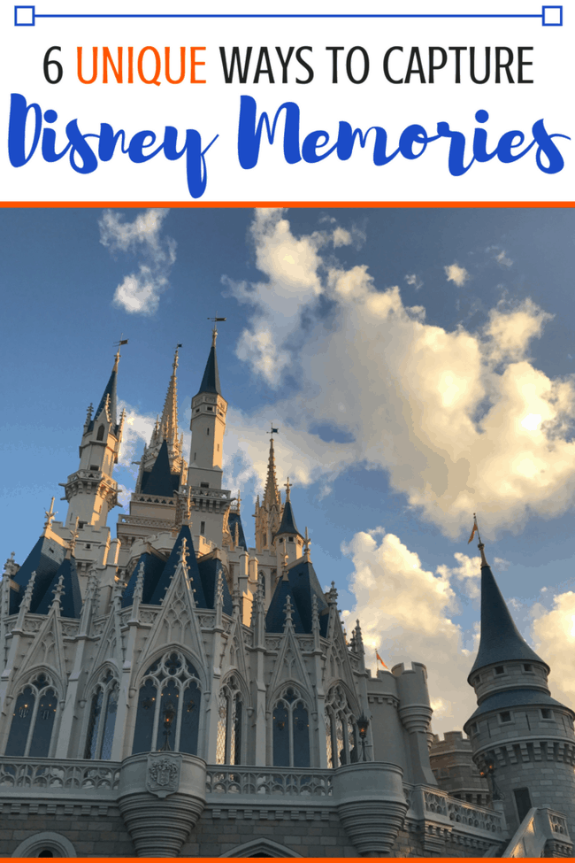 Don't forget a thing about your Disney trip! Here are 6 unique ways to remember your Disney vacation. #Disney #Disneyworld #Disneyland #Disneycruise #vacation #familytrip #familyvacation