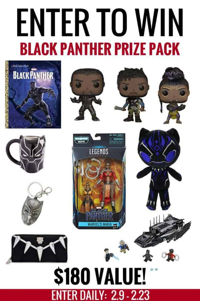 Black Panther Marvel Movie Group Giveaway. #BlackPanther #Marvel #MCU #Giveaway #Tchalla