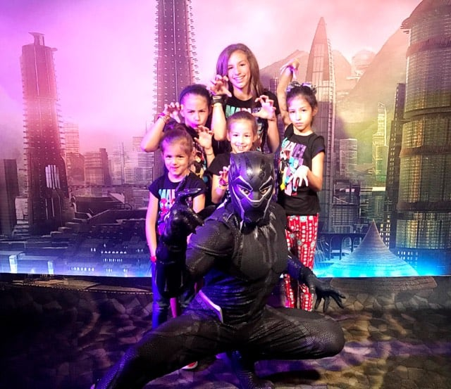 Marvel Day at Sea with Disney Cruise Line is your next vacation, Marvel fans! Black Panther Meet and Greet
