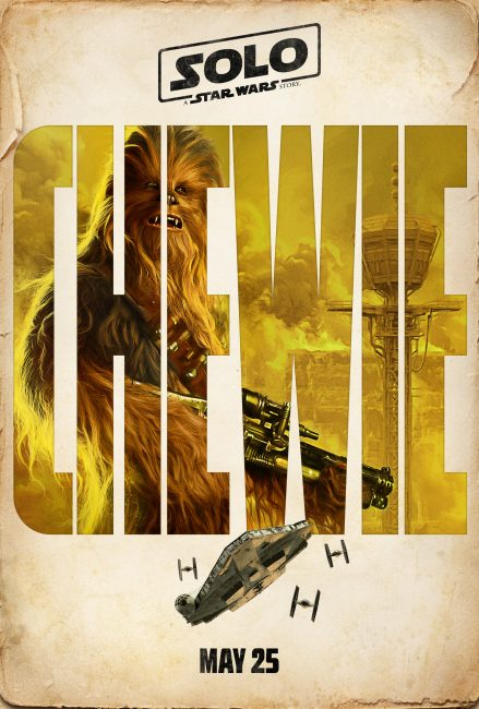 Chewie Poster A Solo Star Wars Story