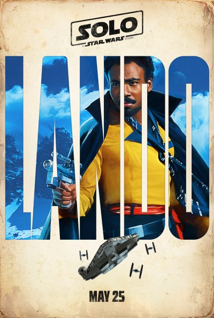 Lando Poster A Solo Star Wars Story