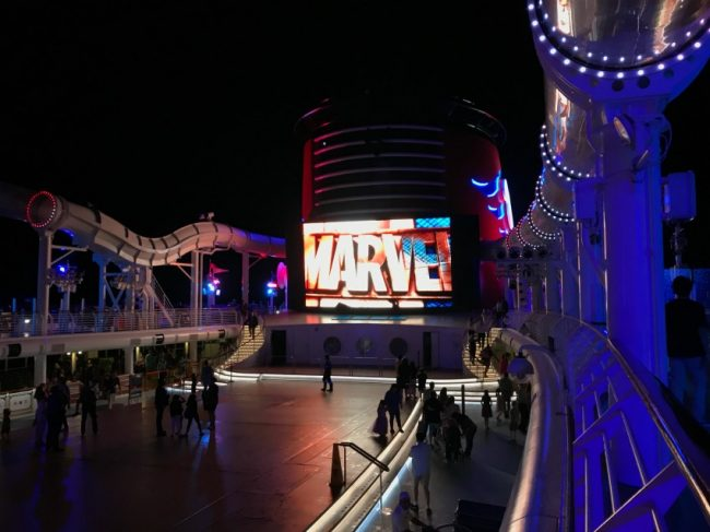 Marvel Day at Sea with Disney Cruise Line is your next vacation, Marvel fans!