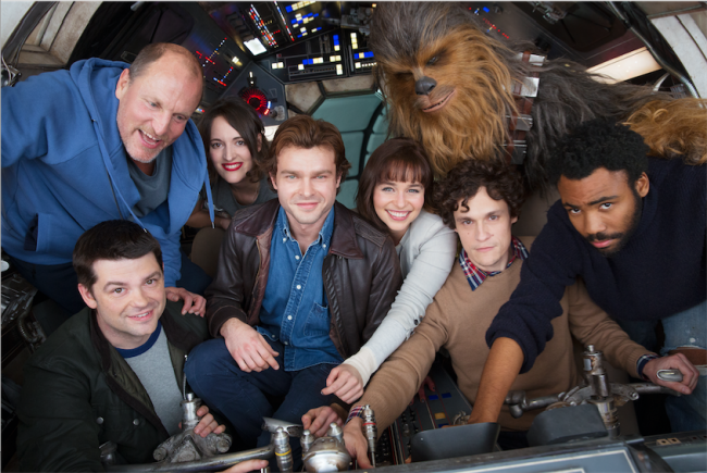 Solo a Star Wars story cast first Solo movie trailer