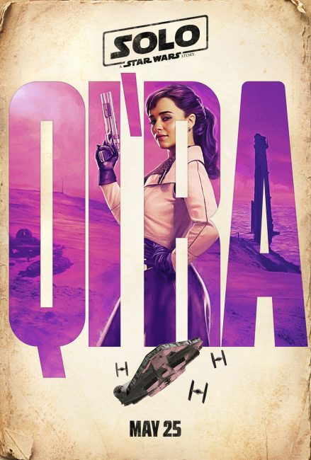 Qira Poster Star Wars Han Solo Movie Teaser Trailer