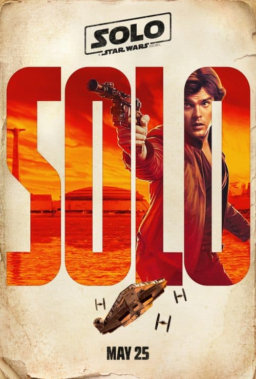Han Solo Poster A Solo Star Wars Story