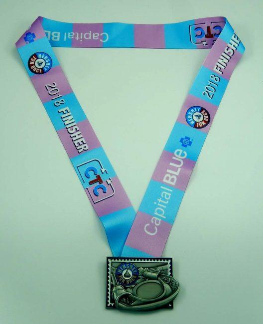 2018 hershey 10K medal