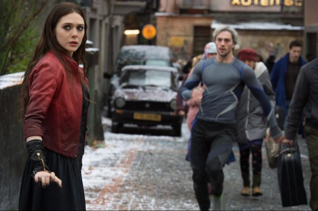 Age of Ultron Scarlet Witch Quick Silver