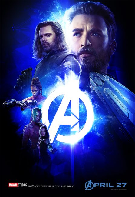 Avengers Infinity War Poster Blue parent movie review
