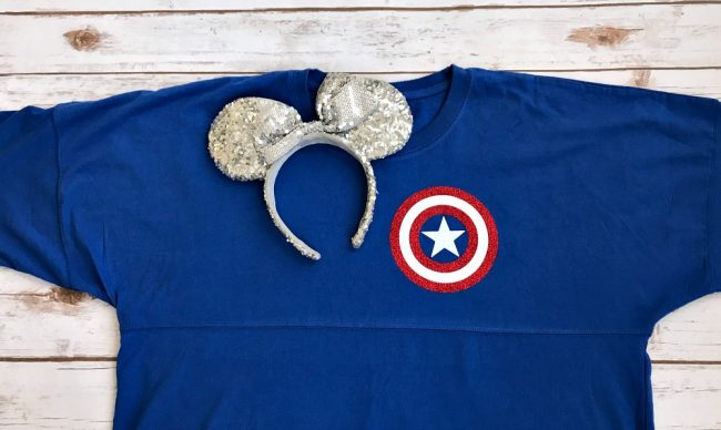 Captain America Spirit Jersey Custom Disney Shirts