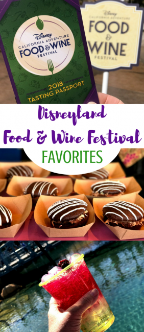2018 Disneyland Food and Wine festival: check out all the favorites from Disney California Adventure Food & Wine! #Disneyland #FoodandWine #DCA #DisneyCaliforniaAdventure