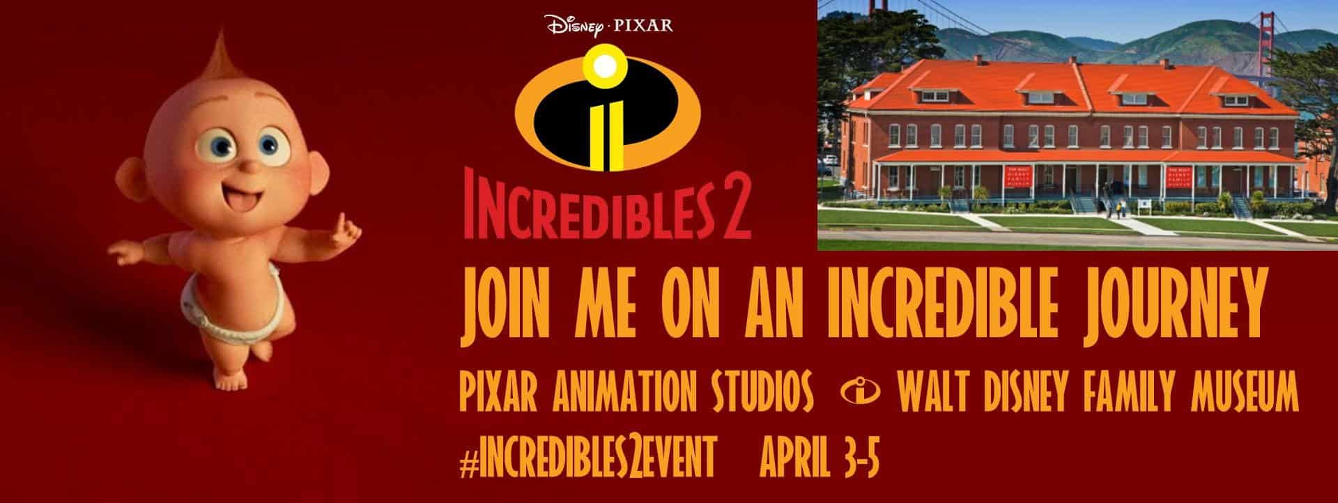 Incredibles 2 movie event banner