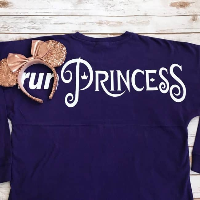 run Princess Spirit Jersey rundisney custom disney shirts
