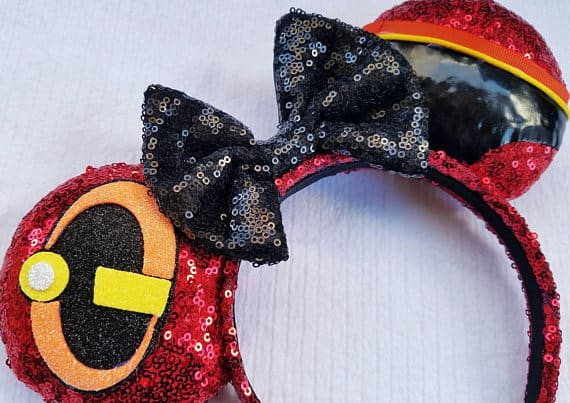 The Incredibles 2 movie inspired ears