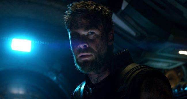 Thor in Marvel Avengers Infinity War Poster