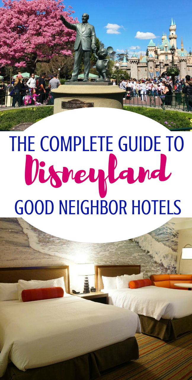 Heading to Disneyland?You will want to know about the Disneyland Good Neighbor Hotels in the area! Anaheim is full of options for runDisney events and family vacations. #disneyland #Disneylandhotels #Disneyplanning #Anaheim