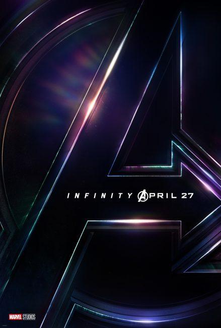 Marvel Avengers Infinity War D23 poster dated April 27