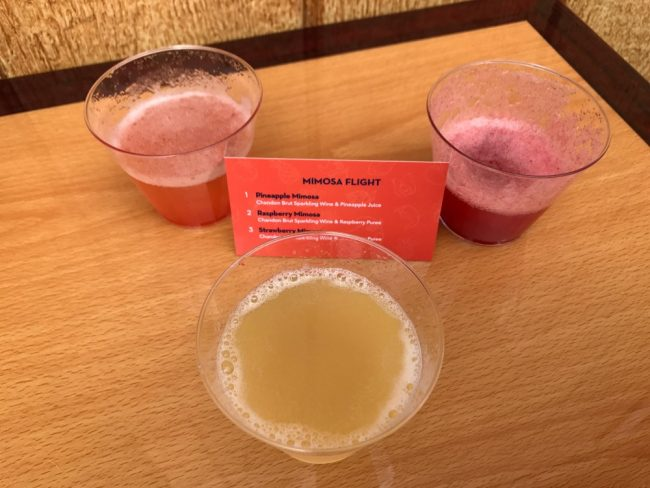 mimosa flight disneyland food and wine festival