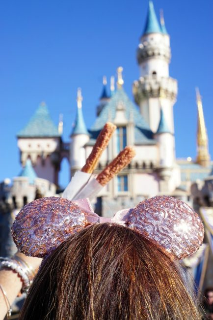 Rose Gold Churros 2018 Disneyland food and wine festival