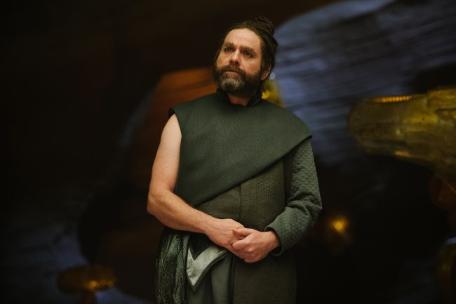 Zach Galifianakis is The Happy Medium in Disney?s A WRINKLE IN TIME. with A Wrinkle in Time PDF