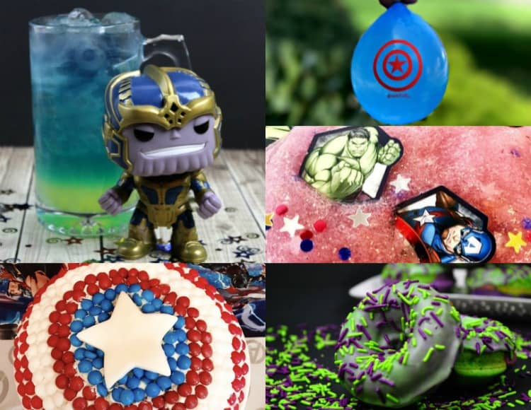 48 Marvel-ous Avengers Superhero Party Ideas
