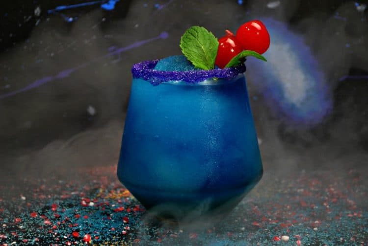 Black-Panther-virgin-frozen drink superhero party ideas