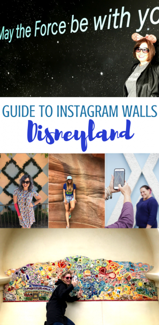 Here's your guide to Instagram Disneyland Walls! For your next Disneyland vacation photo spots. #Disneyland #Disney #photospots #Instagram #Disneywalls #smallworldwall