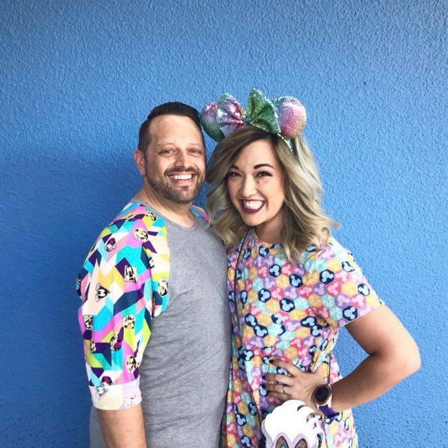 Blue Wall in Disney California Adventure
